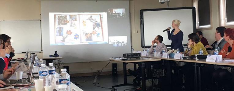 3 avril 2017 - réunion-bilan sur le partenariat Mlf/académie de Dijon/Canopé 21