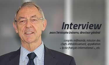 Jean-Christophe Deberre, directeur général