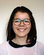 Laureline Lavigne, assistante administrative