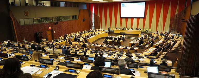 Salle du Conseil économique et social des Nations Unies