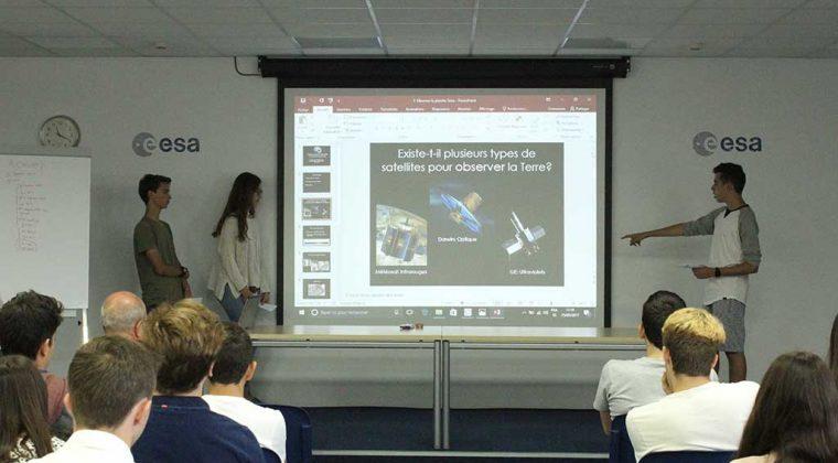 Partenariat Lycée Molière Mlf de Villanueva de la Cañada – ESA, 2017