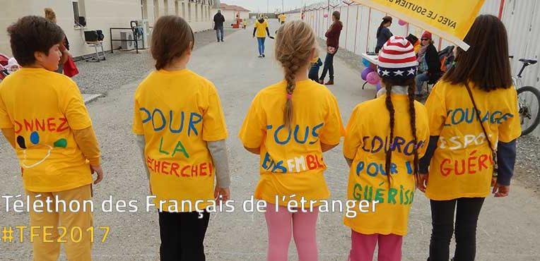La Misison laïaque française, partenaire du Téléthon des Français de l'étranger 2017
