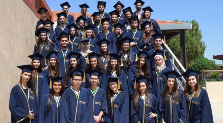 Promotion 2017 lycée franco-libanais Habbouche Nabatieh Mlf, le 17 juin 2017