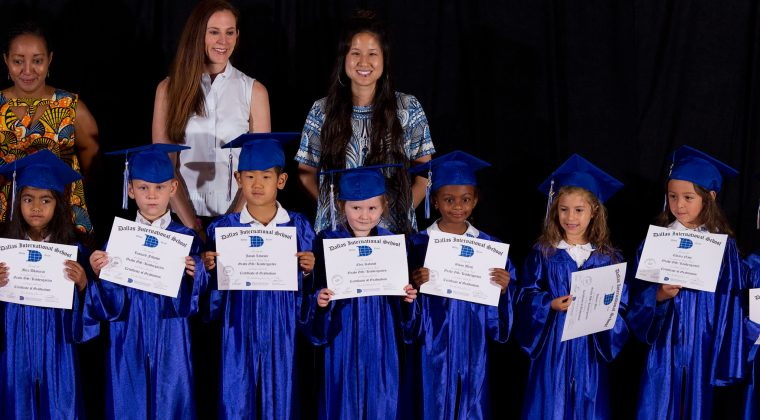 Remise de diplôme, Dallas, juin 2017