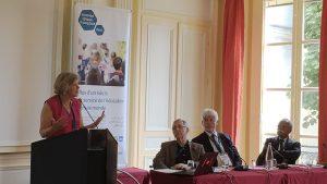 Intervention d'Agnès Levallois à la journée d'information Golfe Egypte, 8 juillet 2017