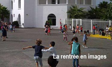Rentrée Ecole Daudet, Casablanca, septembre 2017