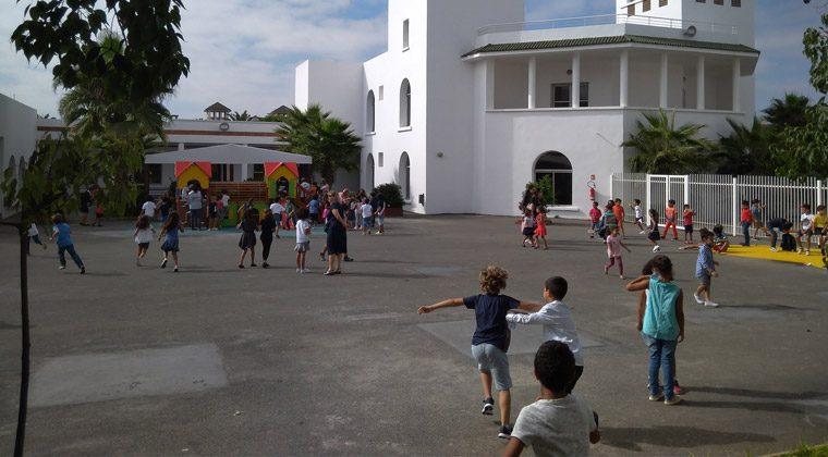 Rentrée à l'école A. Daudet, Casablanca, septembre 2017