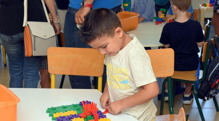 Jour de rentrée au lycée Lamartine de Tripoli, septembre 2017