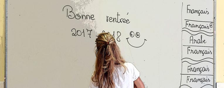 La rentrée au lycée Lamartine, septembre 2017