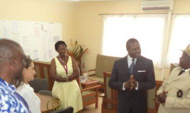 Ecole Sonara Visite du ministre des enseignements sept 2017
