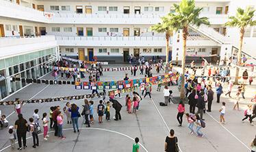 Lycée André Malraux, Rabat, octobre 17