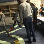 Escape room à l'Ecole française internationale de Wuhan, 2017
