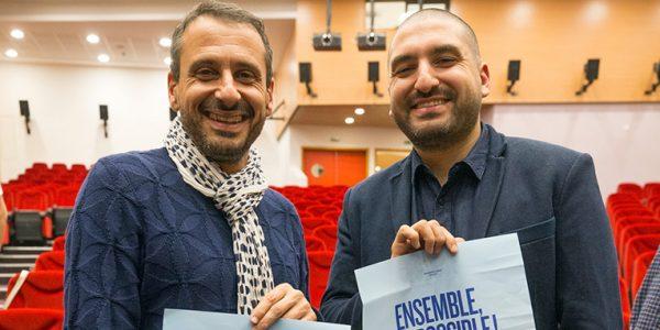 Safy Nebbou et Ibrahim Maalouf, Beyrouth, GLFL, novembre 2017