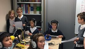 Webradio des CM de Total French School Aberdeen