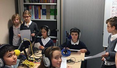 Webradio des CM de Total French School Aberdeen