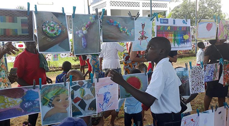 Ecole primaire française Mlf – Perenco, Muanda, mars 2019