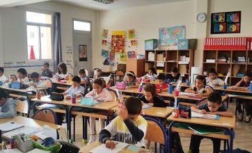 Lecture au CP, école Odette du Puigaudeau, OSUI