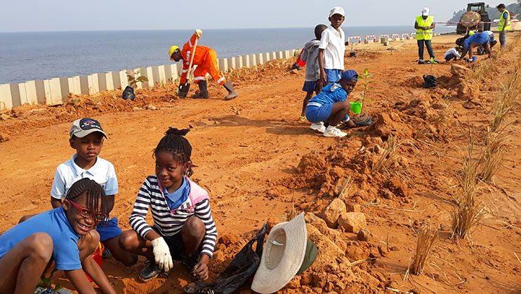 Journée de l'environnement, Mlf-Perenco, Muanda