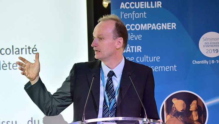 Philippe Esnault, séminaire des écoles d'entreprise, Mlfmonde, juillet 2019