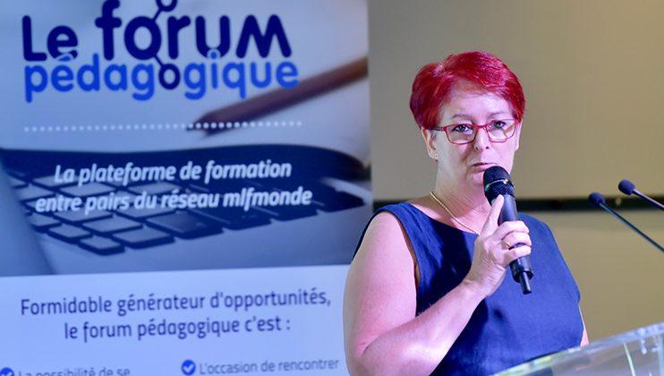 Pascale Toscani, séminaire des écoles d'entreprise, Mlfmonde, juillet 2019